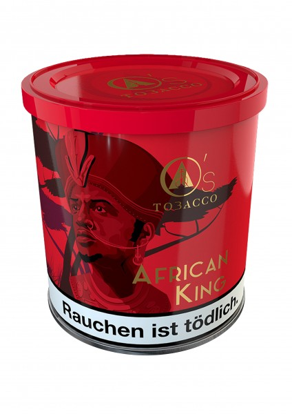 O's Tobacco Red - African King 200g
